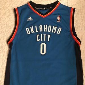 Adidas Oklahoma City Thunder Westbrook Jersey